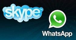 skype whatsapp